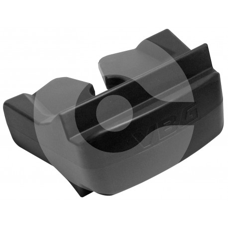 Rubber protective insert